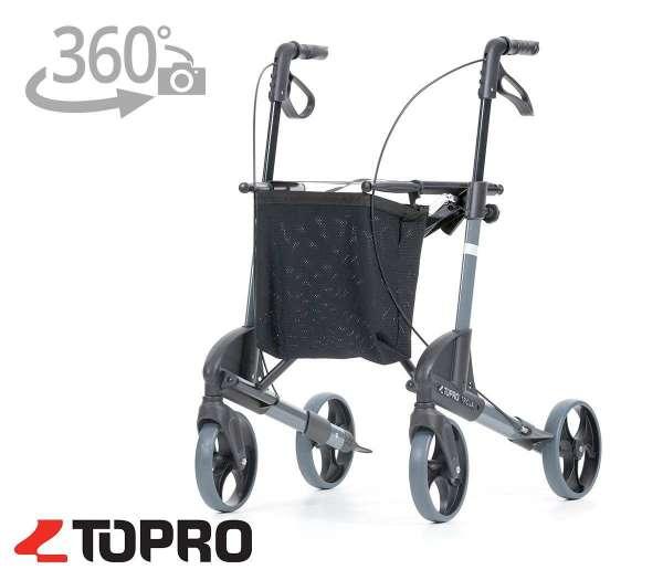 TOPRO Leichtgewicht-Rollator Troja mit 360 Grad-Ansicht