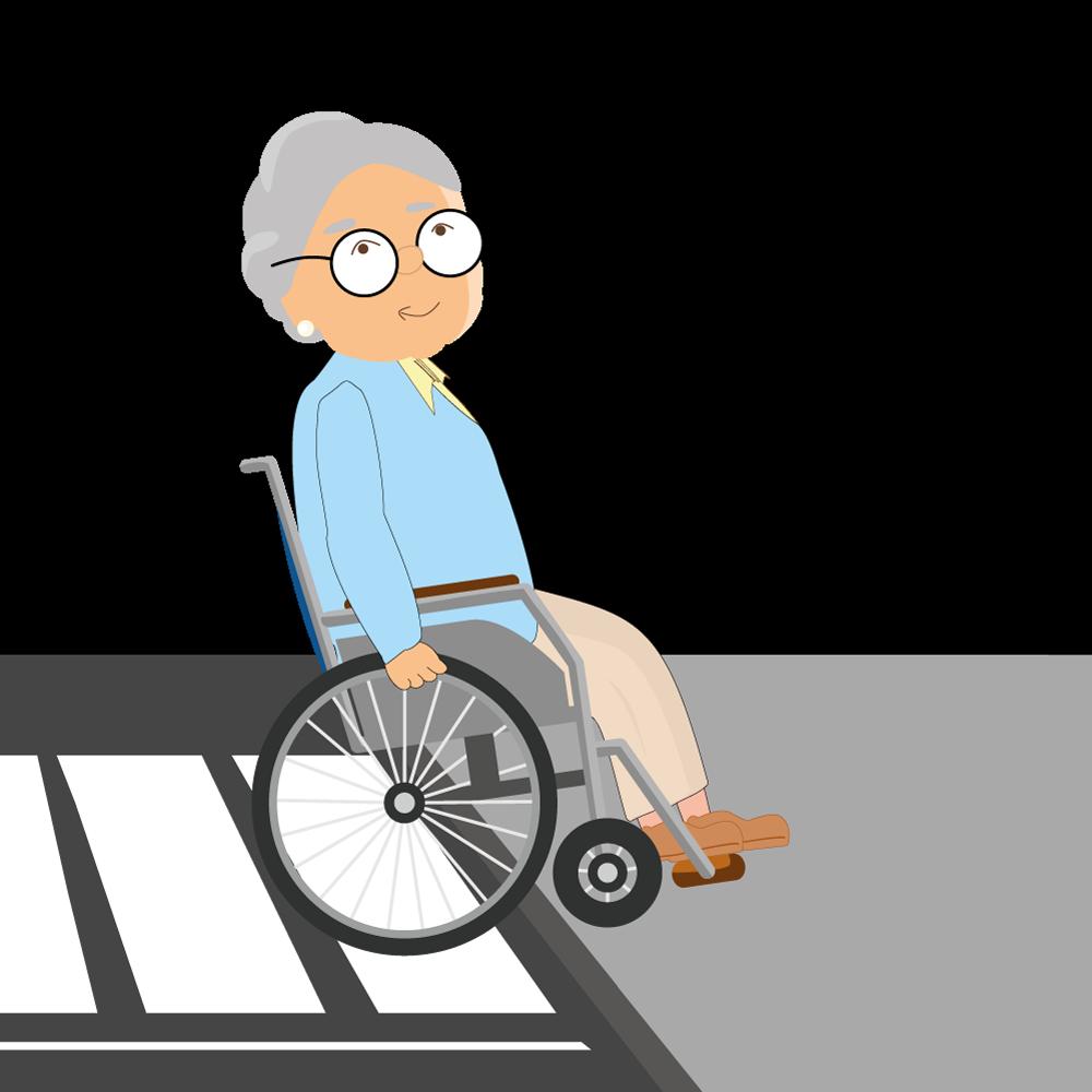 Uberwinden-von-Hindernissen-mit-Rollstuhl