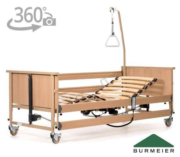 BURMEIER Pflegebett Dali II mit 360 Grad-Ansicht im Rehashop