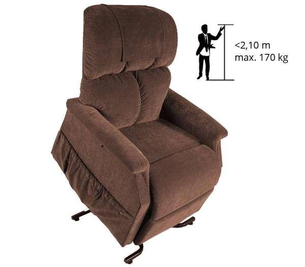Spez. Komfort für Personen mit Übergröße 1 Motor
