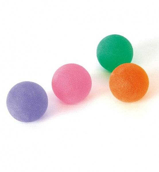 Press-Ball pink - leicht