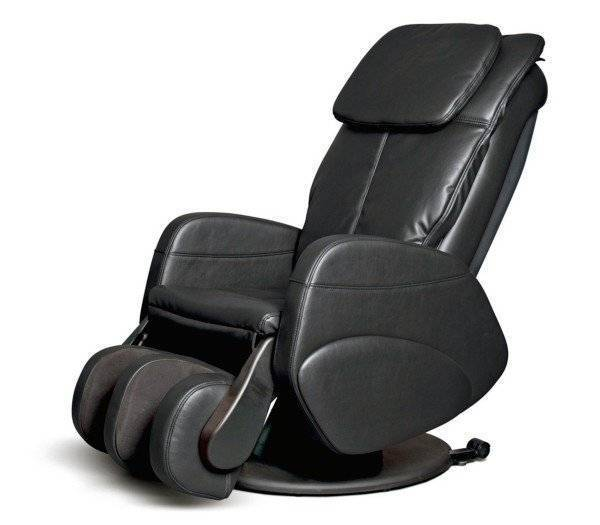 ALPHA TECHNO Massagesessel Alpha 339, Farbe: Schwarz