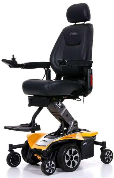 Mobilis Elektrorollstuhl M45 Air Höhenverstellbar - Farbe gelb