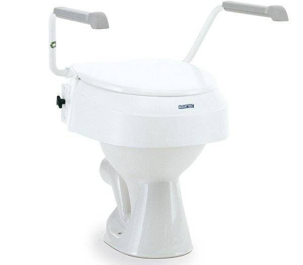 AQUATEC Toilettensitzerhöhung 900