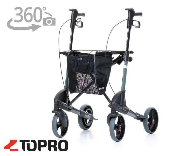 TOPRO Leichtgewichtrollator Troja 2G Basic mit 360° Ansicht im rehashop
