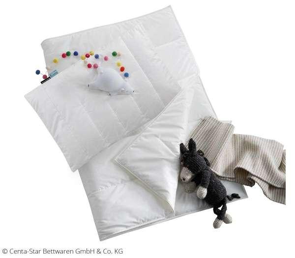 CENTA-STAR Junior-Bettwäsche-Set AllergoProtect Bettwäsche-Set für Kinder