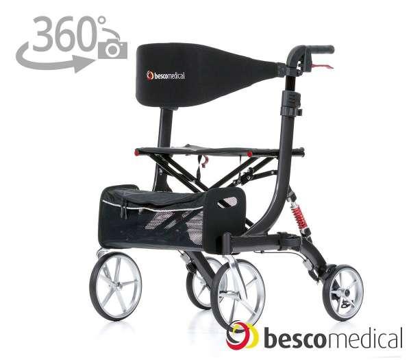 BESCO MEDICAL Rollator Spring XL mit 360° Ansicht im rehashop