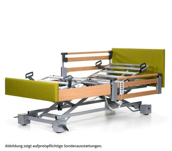 BURMEIER Pflegebett Regia Easy Switch mit Stoff-/Kunstlederbezug im rehashop