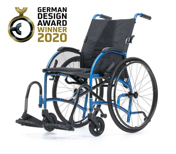 BESCOMEDICAL Leichtgewichtrollstuhl - German Design Award Winner 2020