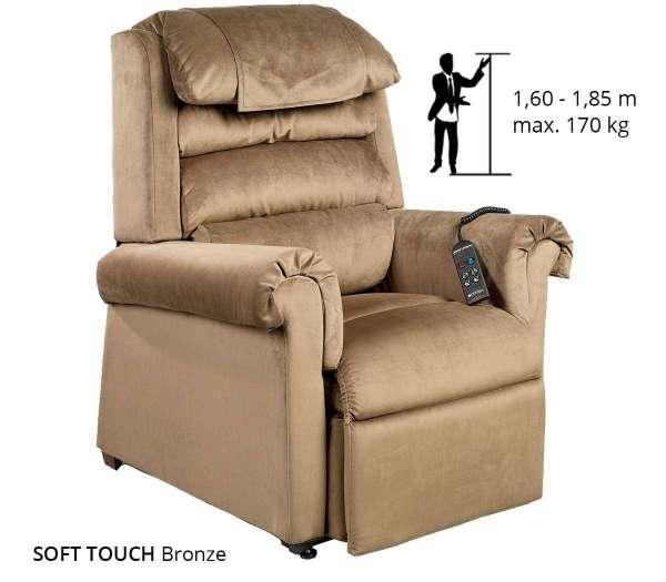 Komfort Luxus Sessel 2 Motoren