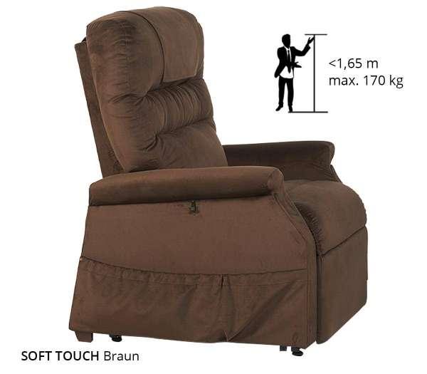 Klassischer Komfort Sessel 2 Motoren