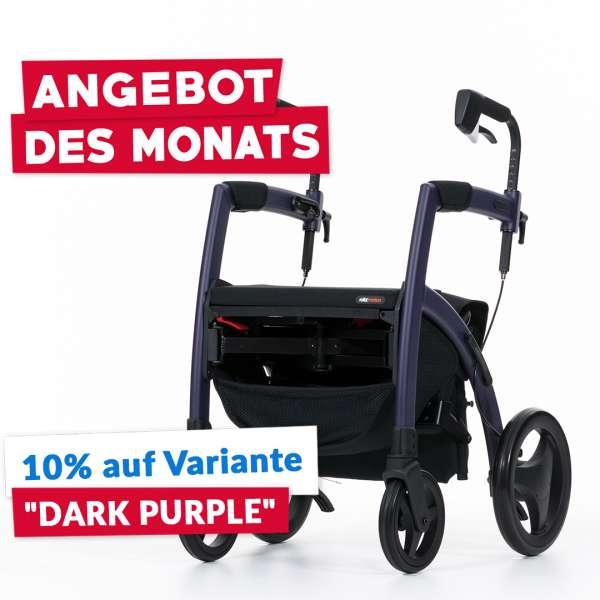 Rollz Motion 2 Rollator-Rollstuhl-Kombination