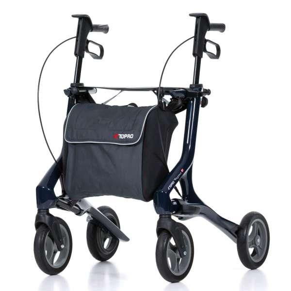 TOPRO Carbon Rollator Pegasus Stahlblau im rehashop