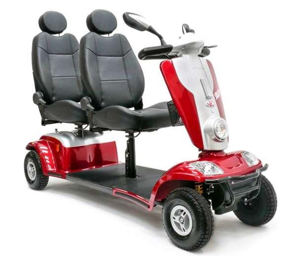 KYMCO Elektromobil 2-Sitzer Tandem rot im rehashop kaufen