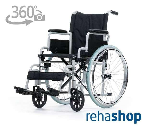 REHASHOP Rollstuhl Karibu mit 360 Grad-Ansicht im rehashop