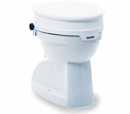 toilettensitzerh hung aquatec 90 toilettensitz mit deckel sitzerh hung wc ebay. Black Bedroom Furniture Sets. Home Design Ideas